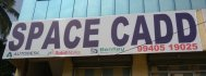 SPACE CADD DESIGNERS & CONSTRUCTION at Tambaram - training center name board photo_12716